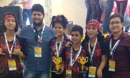 Escola Estadual Jarbas Passarinho disputa etapa nacional de torneio de robótica em São Paulo
