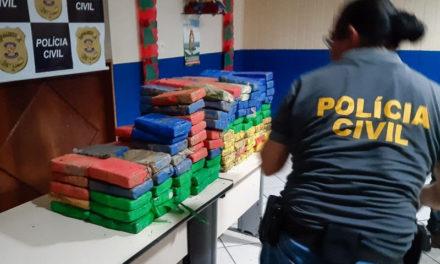 Apreensão de cocaína em Mosqueiro foi a maior já registrada no Pará