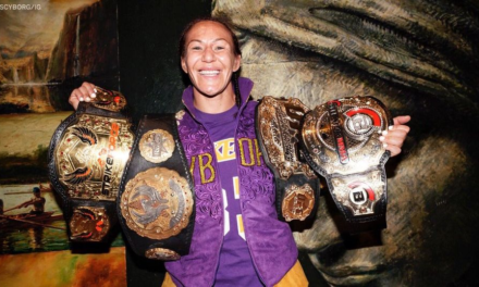 'Cyborg' atropela no quarto round e conquista o cinturão do Bellator