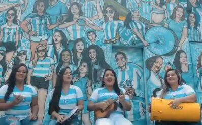 Paysandu homenageia mulheres com samba e ganha a internet
