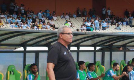 Hélio dos Anjos revela insatisfação com primeiro tempo do Paysandu no Re-Pa