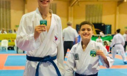Karate paraense garante dois atletas na seleção brasileira da CBK