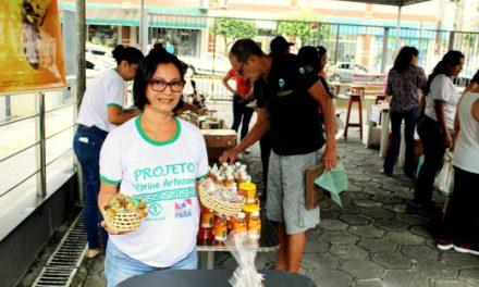 Emater reúne agricultores de vários municípios na 15ª Feira Vitrine Artesanal