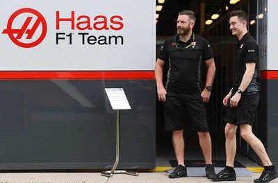 GP da Austrália: Funcionários da Haas se isolam por sintomas de covid-19.