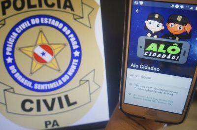 Aplicativo Polícia Civil atende cerca de 200 pessoas por mês