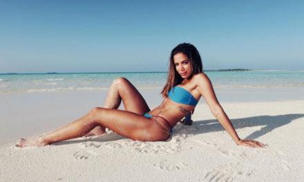 "Nas Maldivas, Anitta diz: ""Acordei com desejo de estar no Big Brother Brasil"""