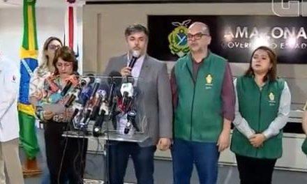 Amazonas tem o primeiro caso confirmado de novo coronavírus na Região Norte