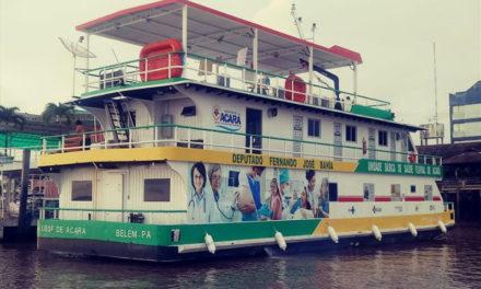 Primeira unidade fluvial de saúde do Vale do Acará é entregue a população