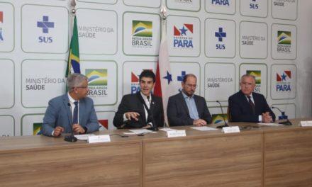 Governo do Pará realiza coletiva para tratar sobre o caso confirmado da covid-19