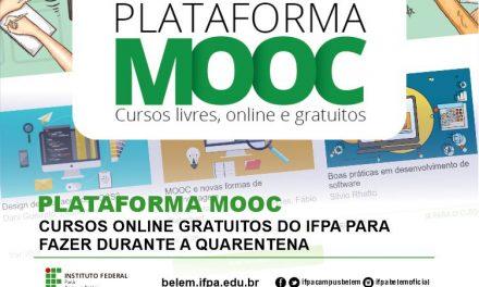 Cursos online gratuitos do IFPA para fazer durante a quarentena