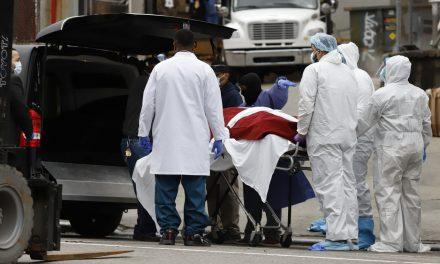 Número de mortes por Covid-19 nos EUA ultrapassa o da China