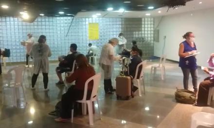 Passageiros vindos do Suriname não apresentam sintomas do coronavírus