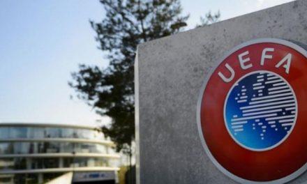 Uefa escreve carta e pede para que os campeonatos não sejam cancelados