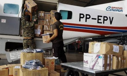 Graesp transporta equipamentos de proteção e higiene para Santarém
