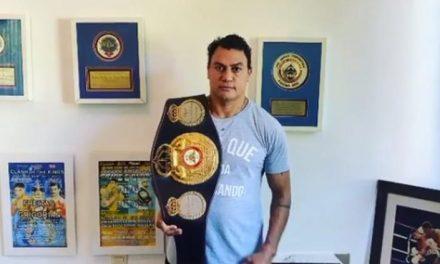 Coronavírus: Popó coloca cinturão mundial em leilão para juntar fundos