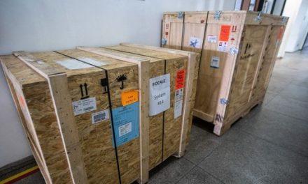 Governo do Pará recebe equipamento capaz de realizar cerca de 200 testes de detecção do Covid-19 por dia