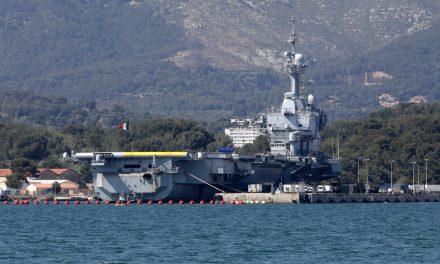 Coronavírus: mais de 1 mil marinheiros em porta-aviões francês estão infectados
