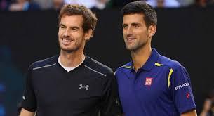"""Novak Djokovic e Andy Murray elegem o """"tenista perfeito"""" em live no Instagram: veja os escolhidos"""
