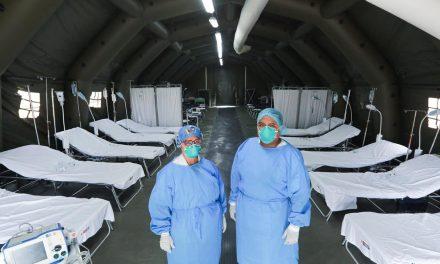 Hospitais de campanha de São Paulo têm 157 pacientes internados