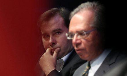 Presidente da Câmara e Paulo Guedes rompem