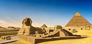 Atrações do Egito Antigo nas suas mãos