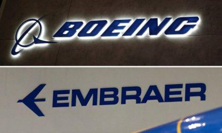 Boeing rescinde acordo de compra da área da aviação comercial da Embraer