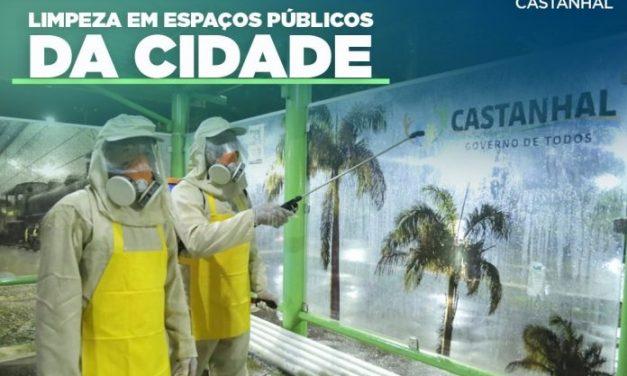 A partir de hoje áreas comerciais da cidade de Castanhal serão desinfectadas