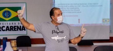 Prefeitura vai intensificar higienização da cidade no combate ao coronavírus