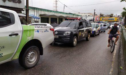 Órgãos de saúde e segurança de Bragança fiscalizam estabelecimentos