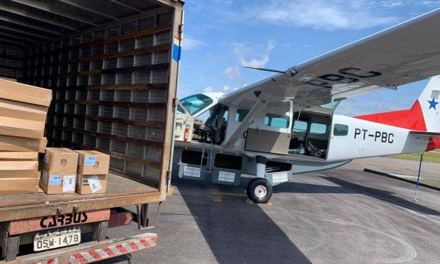 Novos kits com respiradores e bombas de infusões são encaminhados ao interior do Pará