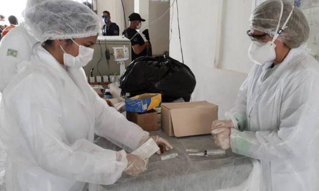Covid-19: casas penais do Pará recebem mais de 10 mil EPIs