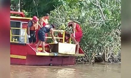 Amarrado, corpo de menina é encontrado dentro de caixa na Baía do Guajará