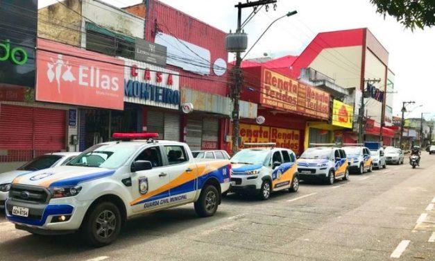 Guarda civil de castanhal continua fiscalização e orientação sobre o lockdown