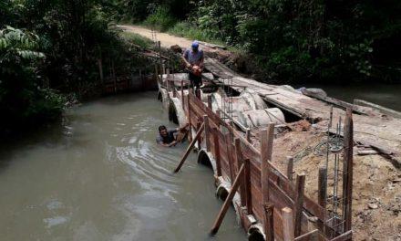 Santa Izabel constrói pontes que interligam regiões no município