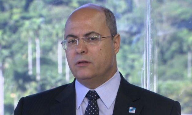 Bolsonaro quer levar todos nós para o precipício, diz Witzel