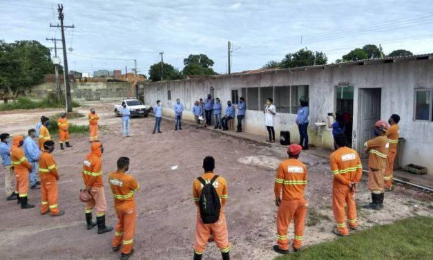 Cosanpa orienta moradores do nordeste paraense sobre combate ao coronavírus
