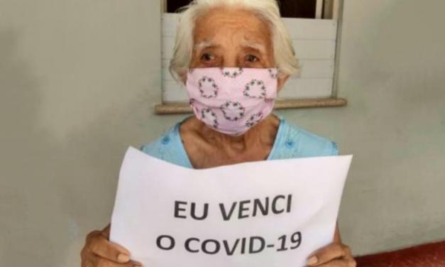 Em Belém, idosa de 91 anos vence batalha contra a covid-19