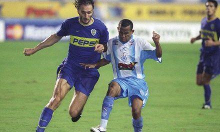 Há 17 anos, Paysandu perdia no Mangueirão para o Boca Juniors e era eliminado da Libertadores