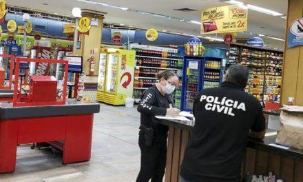 Polícia Civil aplica sanções administrativas em Belém e fecha lojas em Ananindeua