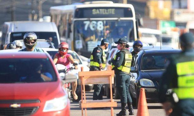 Fiscalização do lockdown em Belém endurece nesta segunda-feira, 18