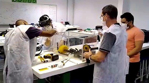 Docentes de engenharia criam projeto de ventilador pulmonar 13 vezes mais barato