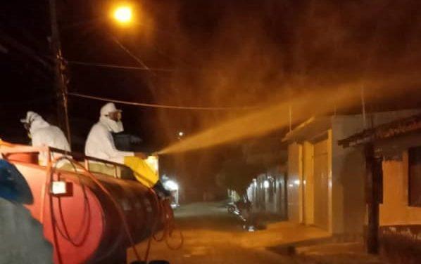Prefeitura de Vigia de Nazaré realiza mais uma etapa de desinfecção contra o Coronavírus
