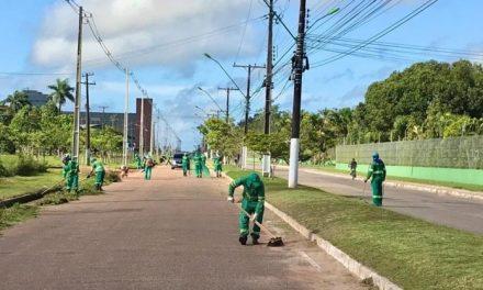 Prefeitura inicia os trabalhos na avenida dos universitários para receber novo asfalto