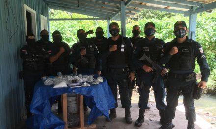 6º Batalhão prende suspeito de tráfico e apreende drogas em Ananindeua