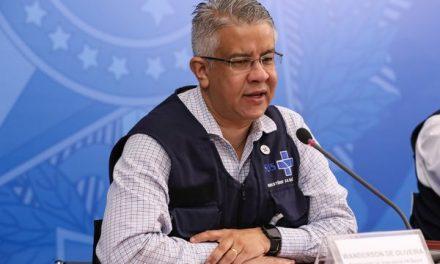 Secretário Wanderson de Oliveira deixa Ministério da Saúde