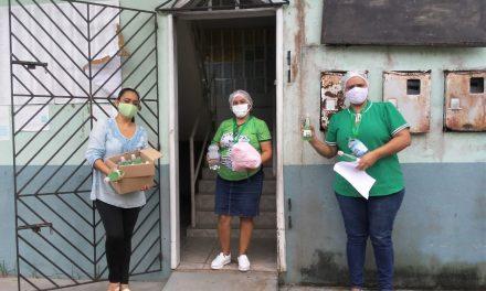 Prefeitura realiza a entrega de materiais de proteção para o atendimento da assistência social