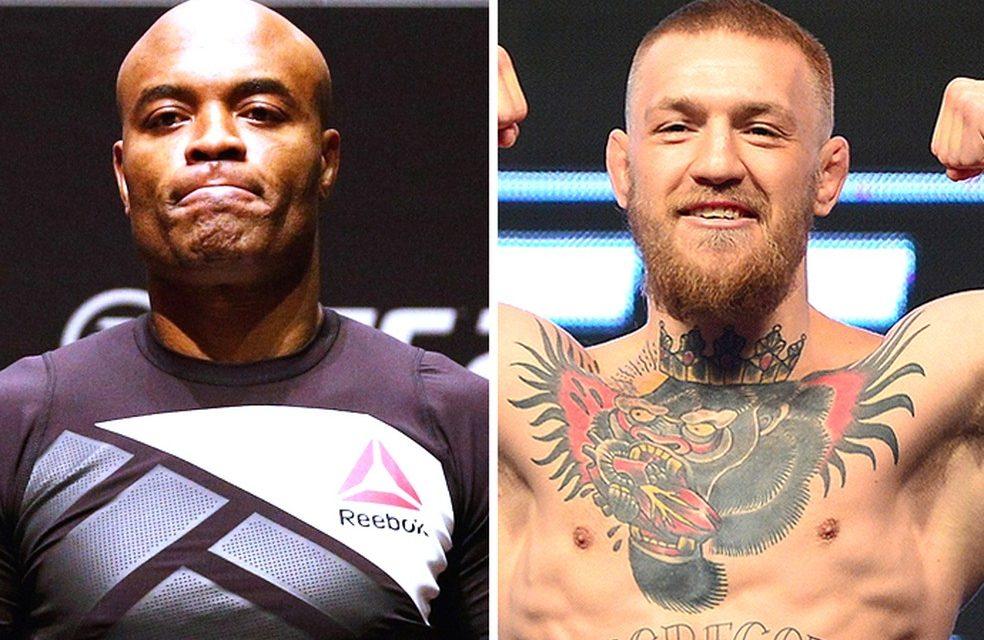 Após encabeçar lista de McGregor, Anderson Silva desafia irlandês para luta em peso-casado de 80kg