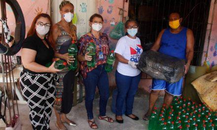 Sespa entrega máscaras de proteção e álcool para comunidades quilombolas