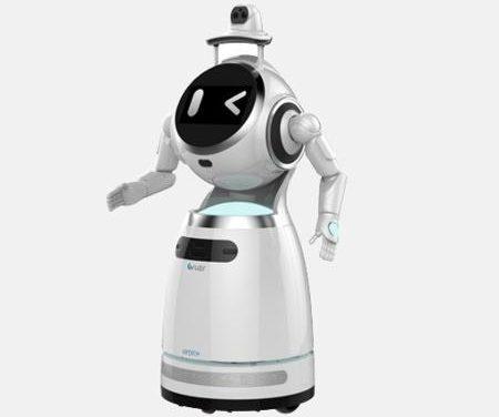 Bélgica usa robô que fala 53 idiomas, mede febre e detecta uso de máscaras