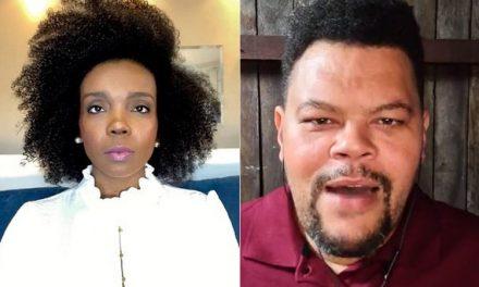 """Thelma Assis e Babu Santana postam contra o racismo: """"A luta é coletiva e diária"""""""
